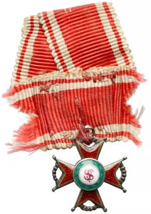 Rosja MINIATURKA Orderu Świetego Stanisława