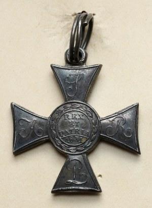 Polski Znak Honorowy 1831 - wzorowana na Virtuti Militari odznaka rosyjska za stłumienie Powstania Listopadowego