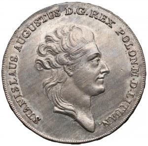 Poniatowski, Talar 1783 E.B. - popiersie bez wstęgi