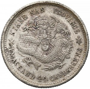 Chiny, Kiangnan, 20 centów (1905) - inicjały