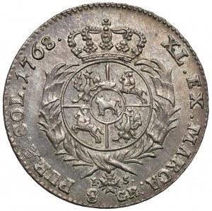 Poniatowski, Dwuzłotówka 1768 IS