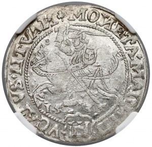 Zygmunt I Stary, Grosz Wilno 1535 - NGC MS61