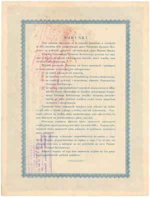 Poznań, PZK, List zastawny 1933 - 500 dolarów