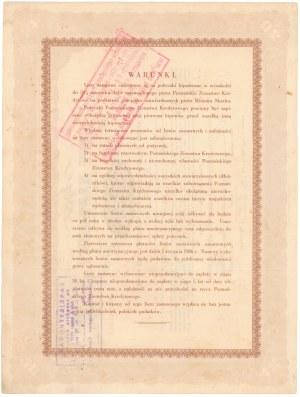 Poznań, PZK, List zastawny 1933 - 20 dolarów