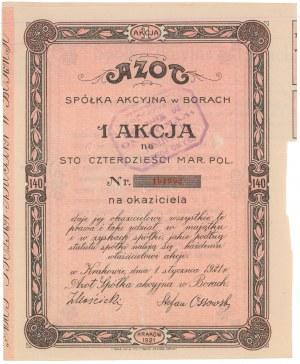 AZOT Spółka Akcyjna, Em.1, 140 mkp 1921