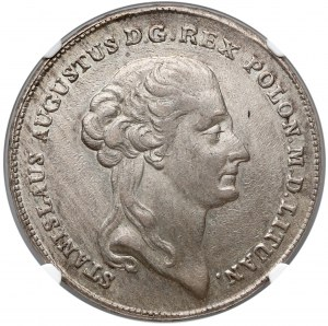 Poniatowski, Talar 1792 M.V. - RZADKOŚĆ