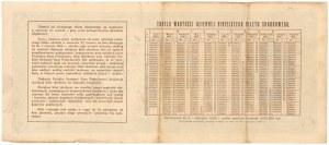 Bilet Skarbowy, Serja IV - 1 miljon mkp 1923