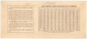 Bilet Skarbowy, Serja IV - 500.000 mkp 1923