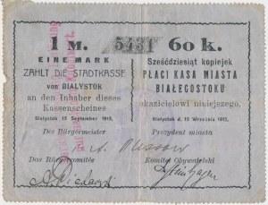 Białystok, 1 Mk = 60 kop 1915