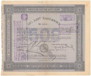 Radom, TKM, List zastawny 500 zł 1928