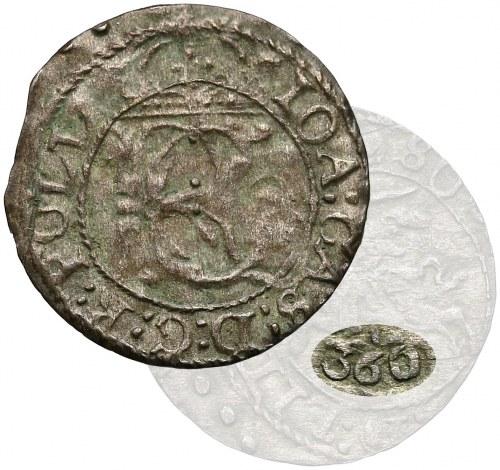 Jan Kazimierz II, Szeląg Wilno 1652 - 360 - z 'pojedynku' MAJNERTA