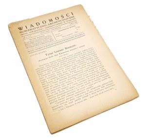 Wiadomości Numizmatyczno-Archeologiczne, Rok 1922 nr 1-6