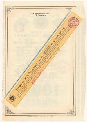 Rosja, Pfandbrief des Rigaer Hypotheken-Vereins Ryga, 1.000 rubli 1910