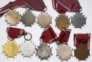 Krzyże Zasługi - zestaw (10szt)
