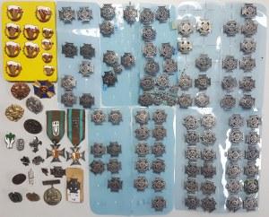 Harcerstwo, Kolekcja odznak, znaczków itp. ZHP (~121szt)