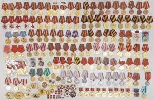 ZSRR Duży zestaw medali i odznaczeń MIX