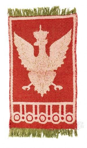 Kilim z orłem z Sali Tronowej Zamku Królewskiego w Warszawie, Ład