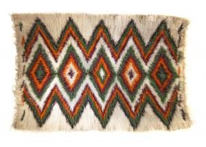 Kilim / narzuta huculska z wełny długowłosej