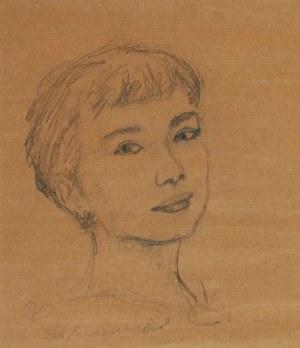 G. LEWANDOWSKI, XX / XXI w., Portret kobiety