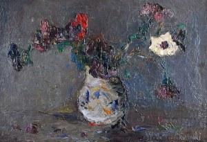 Włodzimierz TERLIKOWSKI (1873-1951), Anemony w wazonie, 1922