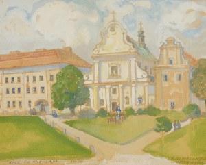 Irena NOWAKOWSKA-ACEDAŃSKA (1906-1983), Kościół św. Mikołaja we Lwowie