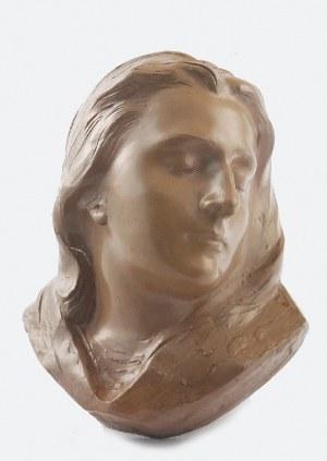 Karol HUKAN (1888-1958), Popiersie kobiety