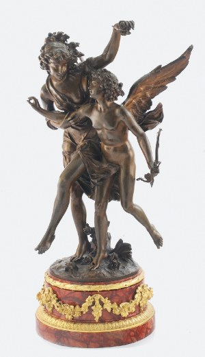 Charles Georges FERVILLE - SUAN (1847-1925), Amor i Psyche