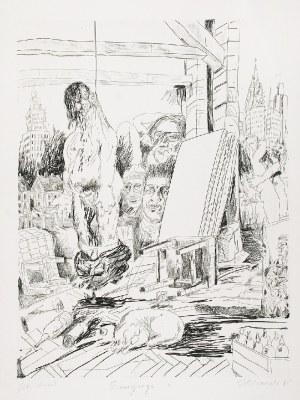 Edward DWURNIK (ur. 1943), Emigracja, 1985