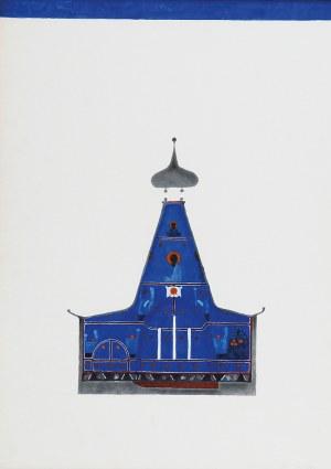 Jerzy NOWOSIELSKI (1923-1911), Projekt dekoracji cerkwi w Hajnówce, 1970