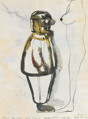 Jacek SROKA (ur. 1957), Skok śmierci (Bez siatki zabezpieczającej), 1999