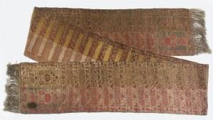 Jakub PASCHALIS JAKUBOWICZ (?-1816 lub 1817), Pas kontuszowy czterostronny, lity