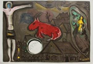 Marc Chagall (1887-1985), Mistyczne Ukrzyżowanie (