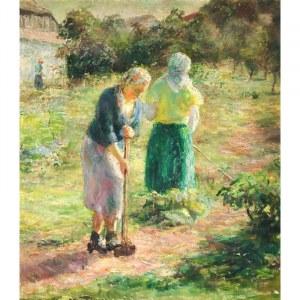 Maria Ziomek-Kowalewska (1905 - 1975), Kobiety w ogrodzie