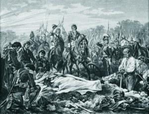 Juliusz KOSSAK (1824-1899), Żył z szablą, niech leży w mogile, [1882]