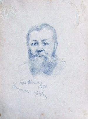 Tadeusz RYBKOWSKI (1848-1926), Portret Kuncewicza, [1896]