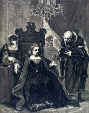 Jan MATEJKO (1838 - 1893), Otrucie królowej Bony