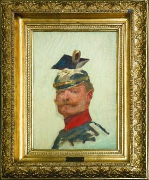 Wojciech KOSSAK (1856 - 1942), Portret Cesarza Wilhelma II