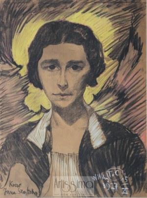 Stanisław Ignacy Witkiewicz (1885–1939), Portret Jadwigi Pulichowej, 1927