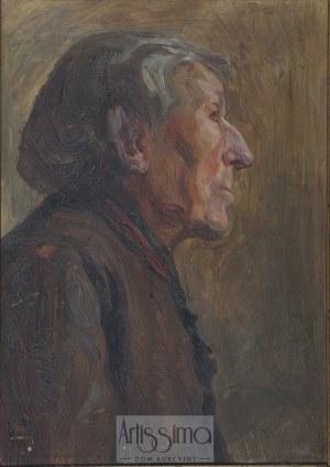 Leontyna Płonczyńska (1894–1959), Studium portretowe, 1916