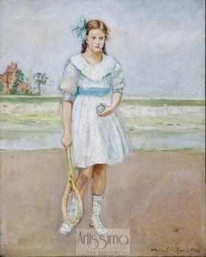 Wlastimil Hofman (1881–1970), Na korcie, 1918