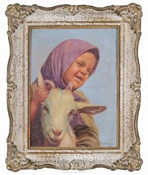 Konstanty Szewczenko (1910–1991), Dziecko z kozą