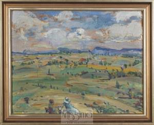 Leon Kamir Kaufman (1872–1933), Pejzaż z Francji, 1925