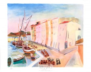 Mojżesz Moise Kisling (1890–1953), Port w Saint Tropez