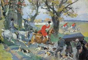 Kossak Wojciech, NIEMIŁE SPOTKANIE, 1912