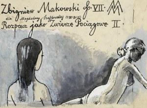 Makowski Zbigniew, ROZPACZ JAKO ZWIERZĘ POCIĄGOWE II, 2000