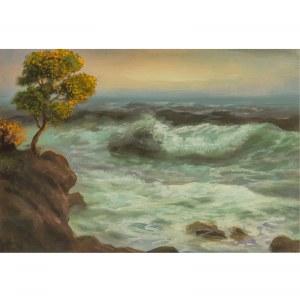 Eduard Schloemann (1888 – 1940), Pejzaż morski, 1938