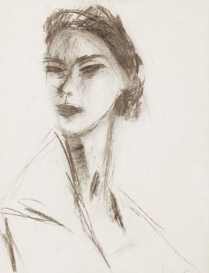 Zygmunt MENKES (1896-1986), Portret młodej kobiety, ok. 1950