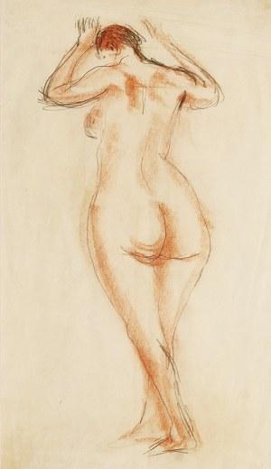 Zygmunt MENKES (1896-1986), Stojący akt kobiety