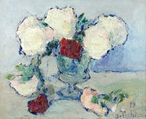Włodzimierz TERLIKOWSKI (1873-1951), Kwiaty w wazonie, ok. 1920