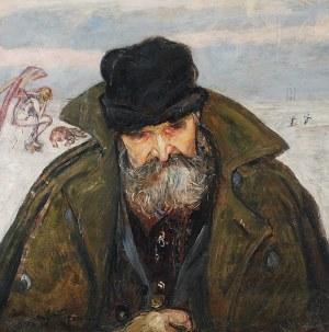 Wlastimil HOFMAN (1881-1970), Wędrowiec [Sybirak], 1921